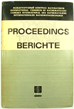 Proceedings of International Congress of Mathematicians (Moscow 1966)