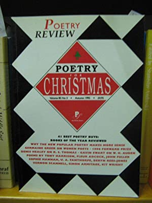 Poetry Review, Volume 85, No. 3, Autumn 1995: Poetry for Christmas: Forbes, Peter (ed.)