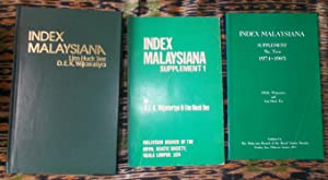 Index Malaysiana,an Index to the Journal of: Tee,Lim Huck &