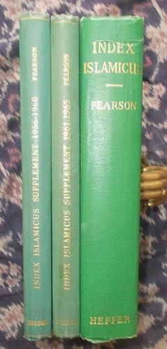 Index Islamicus,1906 - 1965 [inc. 2 supplements]: Pearson.J.D. & Ashton,Julia
