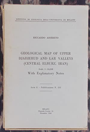 Geological Map of Upper Djadjerud and Lar Valleys [Central Elburz,Iran]