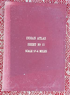 Indian Atlas,sheet No.15,1