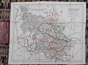 Fox Hunting Map of Yorkshire,West Riding