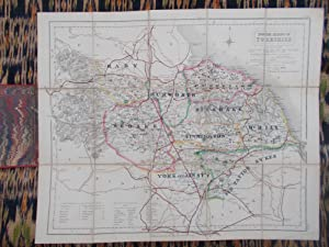 Fox Hunting Map of Yorkshire,North Riding