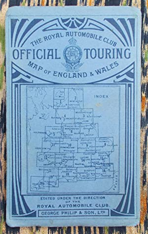 Royal Automobile Club,official touring map,sheet 3,York