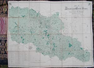 Map of the Bramham Moor Hunt