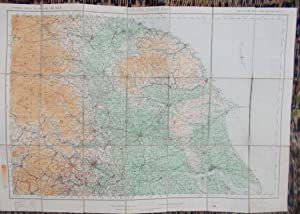 Ordnance Survey,new Layered Map of England and Wales,sheet 3,England N.E.