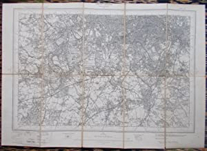 Ordnance Survey,South London / Croydon / Sutton / Richmond