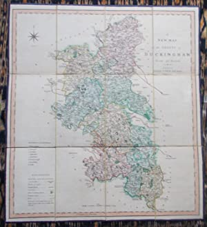 A New Map of the County of Buckingham,divided into hundreds
