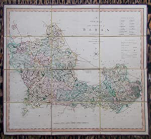 A New Map of the County of Berks,divided into Hundreds
