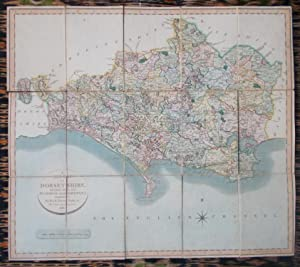 A New Map of Dorsetshire,divided into its Hundreds and Liberties