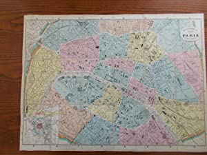 Plan of Paris and Environs [folding map only]