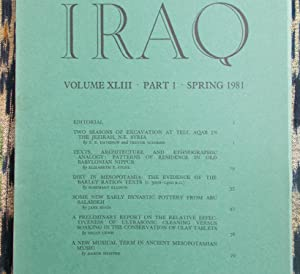 Iraq,Volume XL111.part 1.