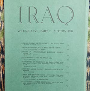 Iraq,Volume XLV1,part 2.