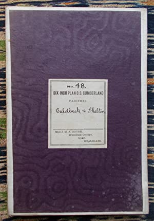 Ordnance Survey,Cumberland,sheet XLV111,Caldbeck & Skelton
