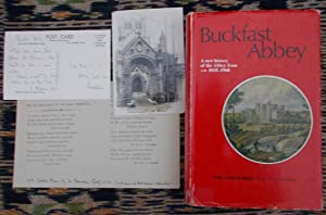A History of Buckfast Abbey,from 1018 to 1968 [signed]
