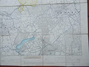 Ordnance Survey,Surrey,Sheets XXXIX,Guilford Division,Bramley,Cranleigh,Ewhurst,Hascombe
