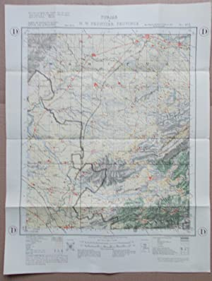 Survey of India,Punjab & N.W.Frontier Province,Parts of Districts Hazara,Attock and Rawalpindi,sh...