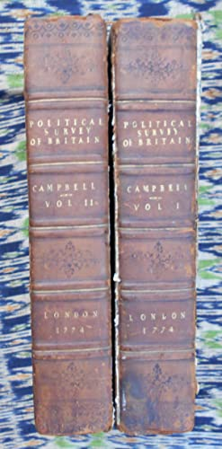 A Political Survey of Britain,2 vols,binding copy