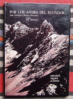 Por Los Andes Del Ecuador: Anhalzer,Jorge & Navarrete,Ramiro