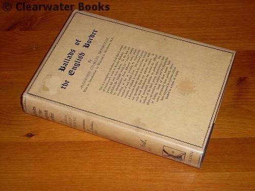 Ballads of the English Border. Edited with glossary and notes by W.A.MacInnes. A.C.SWINBURNE