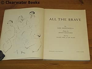 All the Brave. Drawings of the Spanish Civil War. With text by Elliot Paul & Jay Allen and a ...