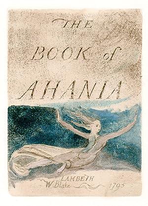 The Book of Ahania.: BLAKE, William. TRIANON