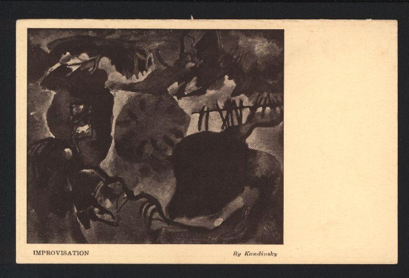 Improvisation [heutiger Titel: Improvisation 27; Garden of: Armory Show 1913.