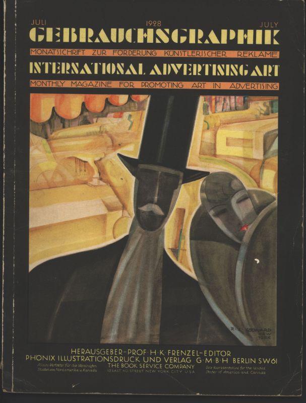 Gebrauchsgraphik. Monatsschrift zur Förderung Künstlerischer Reklame. Fünfter