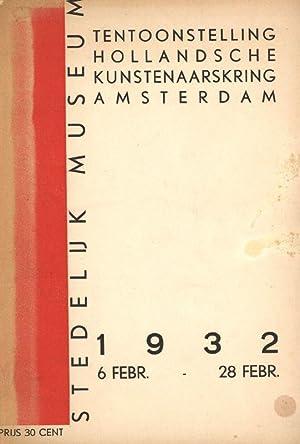 Tentoonstelling Hollandsche Kunstenaarskring Amsterdam. Stedelijk Museum 6.