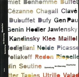 Die Sammlung Karl und Jürg Im Obersteg.: Baumgartner, Michael, Tavel,