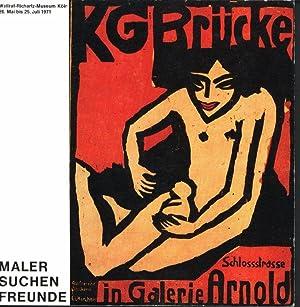 Maler suchen Freunde. Jahresmappen, Plakate und andere: Keller, Horst (Vorwort),