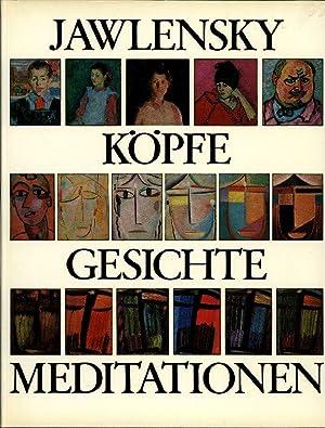 Köpfe, Gesichte, Meditationen. Mit dem Werkstatt-Verzeichnis in: Jawlensky, Alexej. Weiler,
