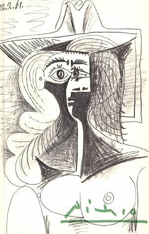 PICASSO. L Idée Pour une Sculpture. Thème: Picasso. Penrose, Roland