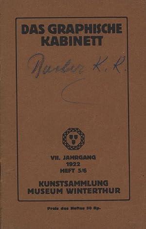 Kunstsammlung Museum Winterthur. VII. Jahrgang der Mitteilungen aus den Sammlungen des Kunstvereins...