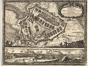 Castra Suedica ad Haffniam . Antique battle: Pufendorf, Samuel von.