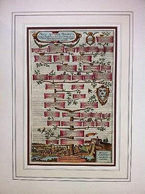 Stammtafel fol. XIII. Dvces Avstriae Priores. Österreichischer: Stammbaum. Linz. Albizzi,