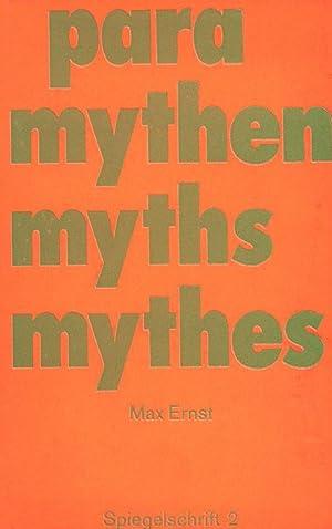 para mythen myths mythes. Max Ernst. 11: Ernst, Max.
