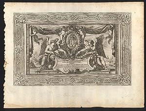 """Titelseite zu: """"Recueil des plus beaux édifices: Henry de Harlay,"""