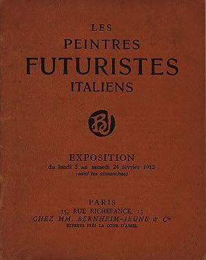 Les Peintres Futuristes Italiens. Exposition. Boccioni. Carrà.: Futuristen. Bernheim Jeune.