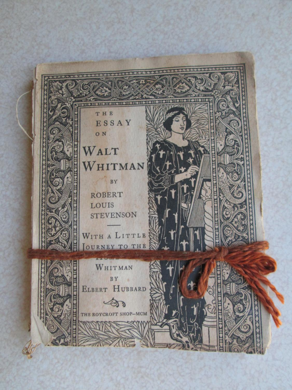 the essay on walt whitman a little journey to home of the essay on walt whitman a little journey to home of whitman robert