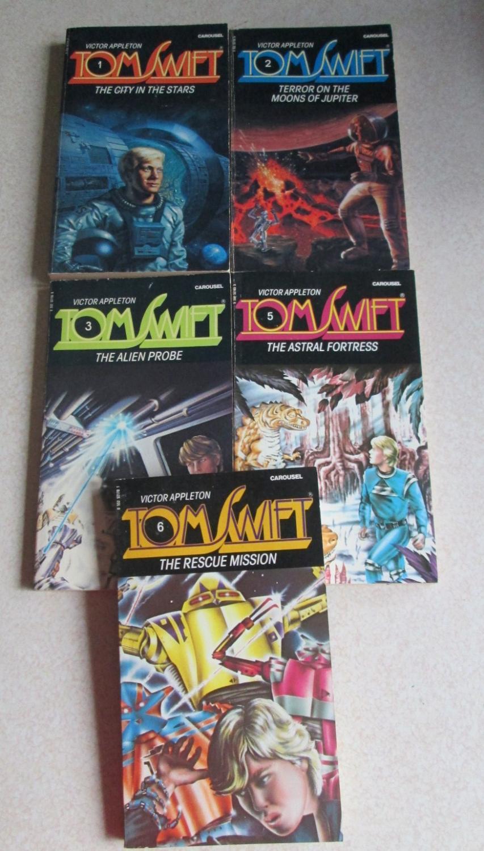 Tom Swift: 1 City in the Stars  2 Terror on