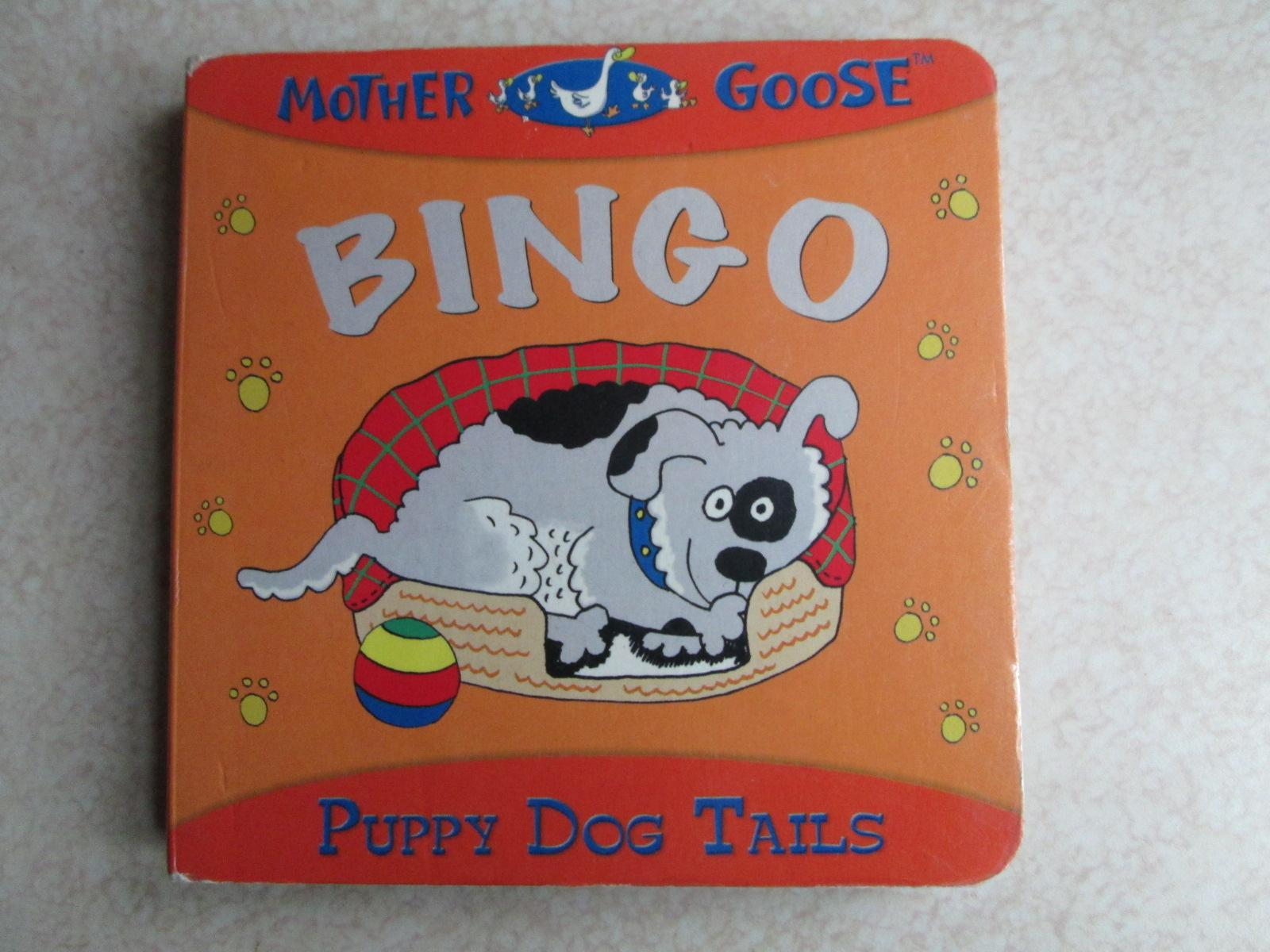 Mother Goose Bingo Puppy Dog Tails Board Book By Innovage Inc