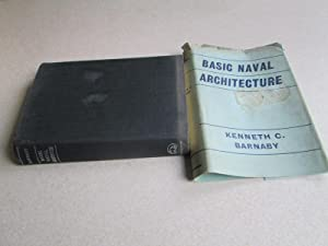 Basic Naval Architecture. (Peter Du Cane Signed Book)