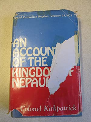 An Account of the Kingdom of Nepaul
