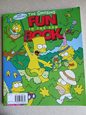 The Simpsons Fun Book in the Sun + Rainy Day Fun Book (1 Volume)