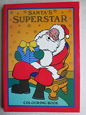 Santa's Superstar Colouring Book