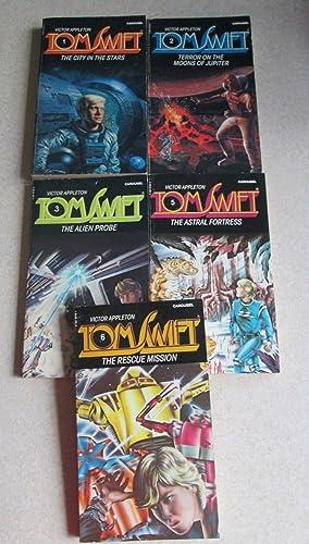 Tom Swift: 1 City in the Stars. 2 Terror on Moons of Jupiter. 3 Alien Probe. 5 Astral Fortress. 6 ...