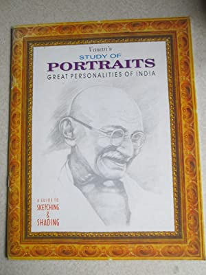 Vasan's Study of Portraits. Great Personalities of India. A Guide to Sketching & Shading