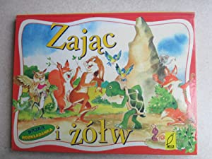 Zajac I Zolw. The Hare and the Tortoise in Polish Pop-Up Book